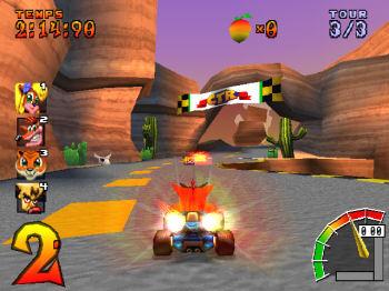 Crash bandicoot гонки